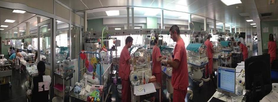 Nuestro equipo de pediatras atiende de forma continuada a los pacientes ingresados en la UCI del Hospital Católico Casa de Salud de Valencia.